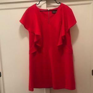 🔥🆕 NY&Co. Gabrielle Union Ruffle Sleeve Dress